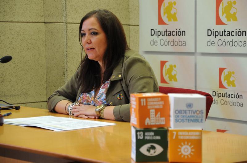 La vicepresidenta segunda y delegada de Desarrollo Económico de la Diputación de Córdoba, Ana María Carrillo.