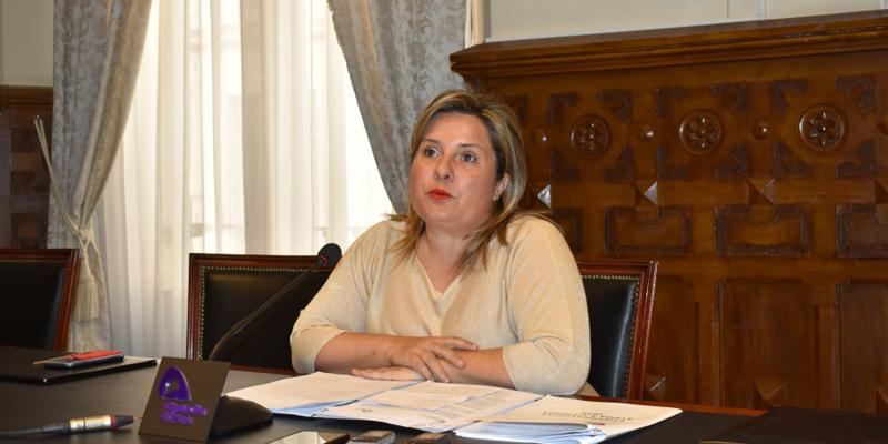 La vicepresidenta de la Diputación, Esther Pérez.