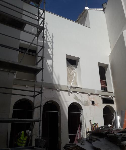 fachada Hotel Palacio Colomera