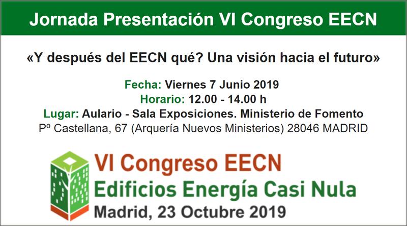 jornada presentacion VI congreso eecn