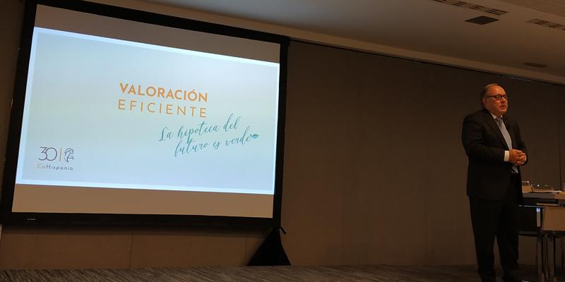 Eduardo Serra, presidente de CoHispania durante la presentación del modelo el pasado 6 de junio.