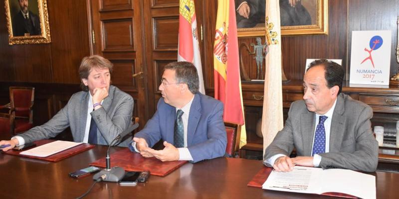 Arranca el Área de Regeneración Urbana de Soria, con más participación y objetivos sociales, y un equipo técnico que presentará sus resultados en ocho meses.