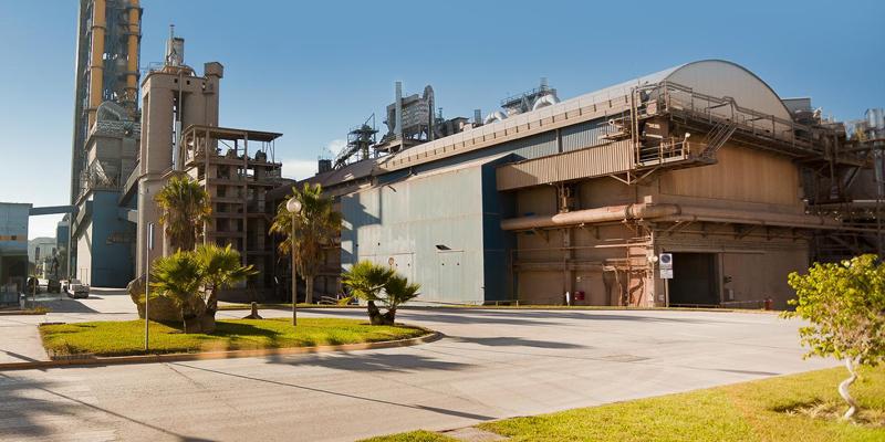 Fábrica de cemento en Málaga de HeidelbergCement.
