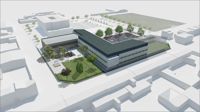 La construcción del centro se hizo con el objetivo de responder a la demanda educativa de las localidades de Ribaforada, Cabanillas y Fustiñana.