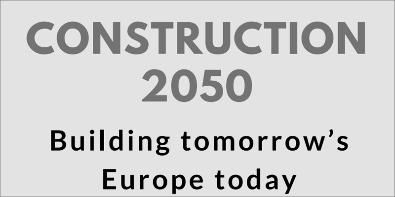 Representantes europeos proponen una nueva iniciativa para afrontar los retos de la construcción en 2050 • CONSTRUIBLE