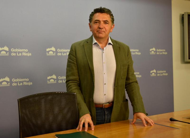 Carlos Cuevas, consejero de Fomento y Política Territorial del Gobierno de La Rioja.