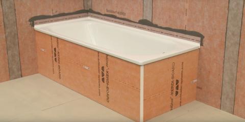 Impermeabilización bañeras y platos de ducha con Schlüter®-KERDI-TS