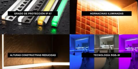 Schlüter-LIPROTEC-EASY: Iluminación LED con tecnología Plug & Play