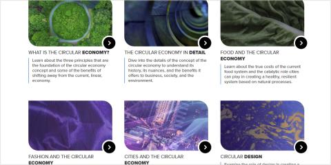 Nuevo centro de aprendizaje sobre economía circular de la Fundación Ellen MacArthur
