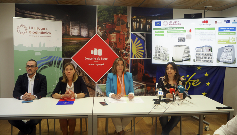 Rueda de prensa Ayuntamiento Lugo