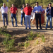 El primer jardín adaptado al cambio climático se inaugura en el municipio pacense de Valverde de Leganés