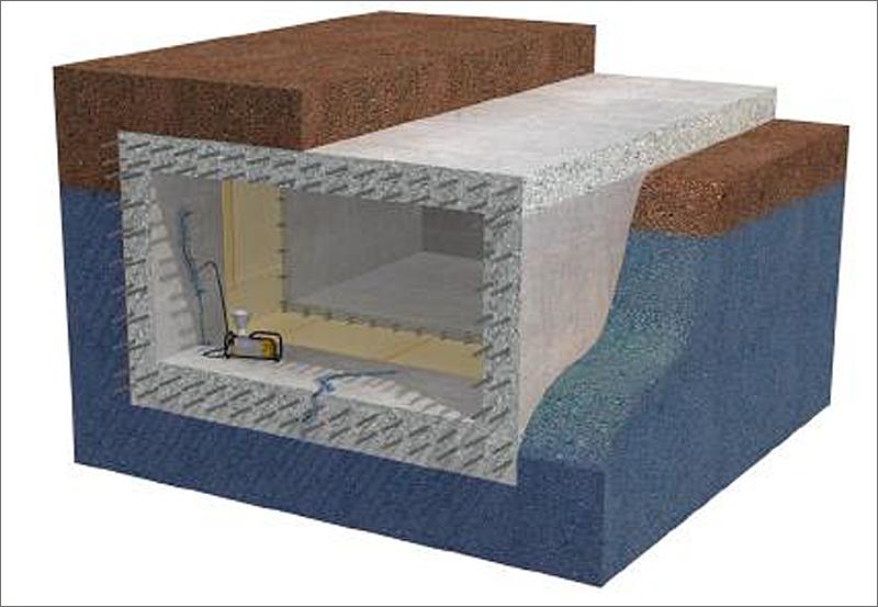 El sistema de membranas crea una protección impermeable al gas radón, ofreciendo además características de flexibilidad y resistencia.