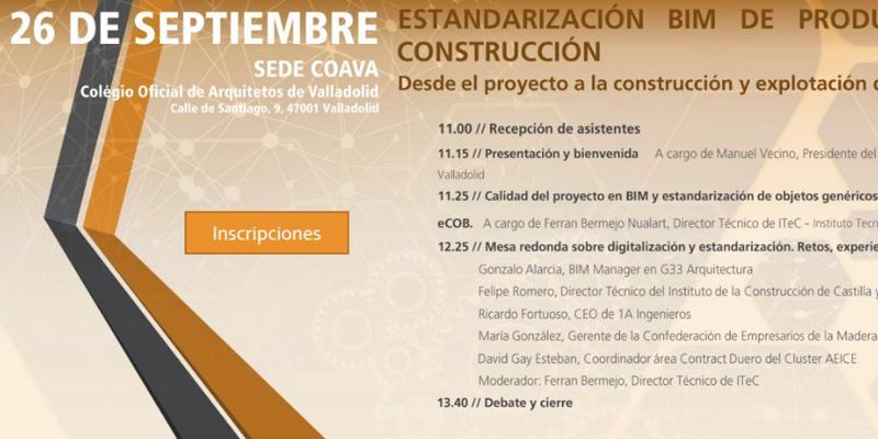 estandarización bim de productos de la construcción