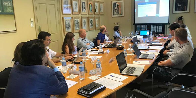 Técnicos participantes el el proyecto EERAdata