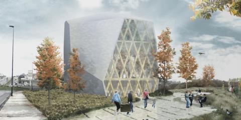 La construcción del edificio de madera Impulso Verde en Lugo será el inicio del primer barrio multiecológico