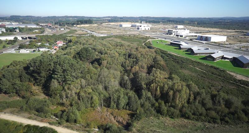 Entorno donde se ubicará el barrio multiecológico.