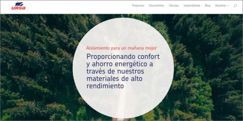 Contenidos de edificación sostenible, herramientas de cálculo y biblioteca BIM en la nueva web de URSA