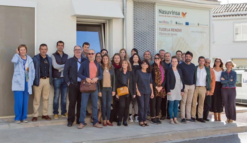 Foto de familia de los miembros del proyecto europeo LC Districts