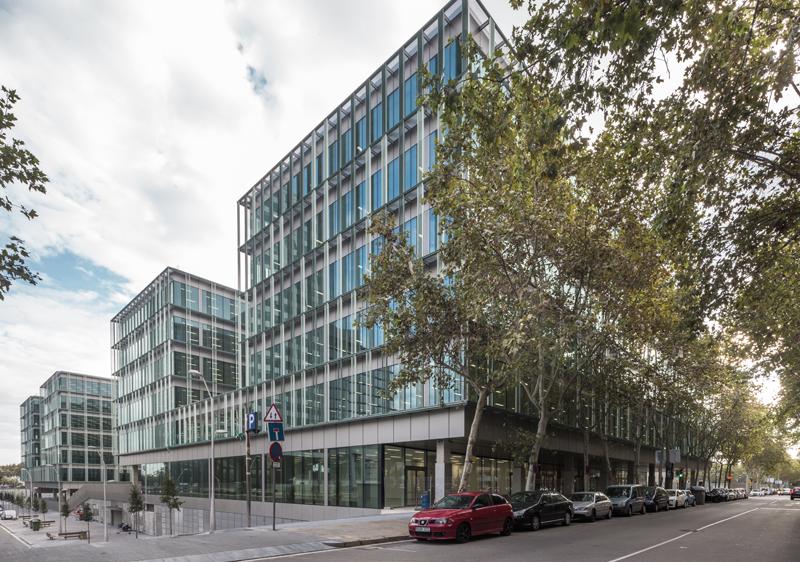 edificio campus administrativo generalitat de catalunya