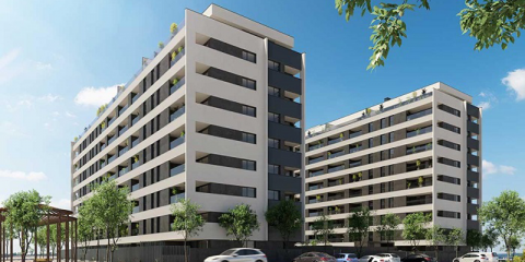 Pamplona acoge la promoción de viviendas Célere Ripagaina con calificación energética A