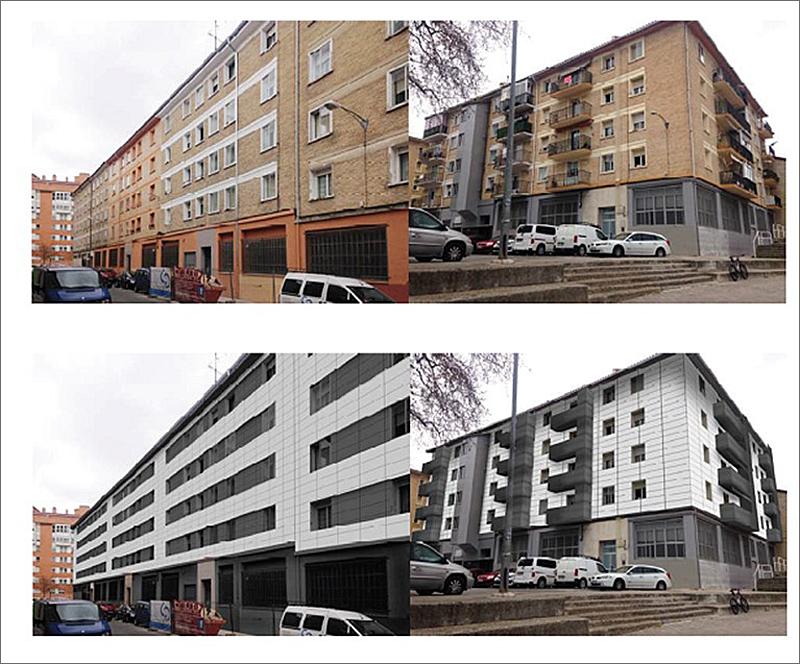El objetivo de lograr la regeneración general del conjunto residencial de los edificios comprendidos en las calles Doctor Salva, Doctor Labayen y Calle Sanducelai.