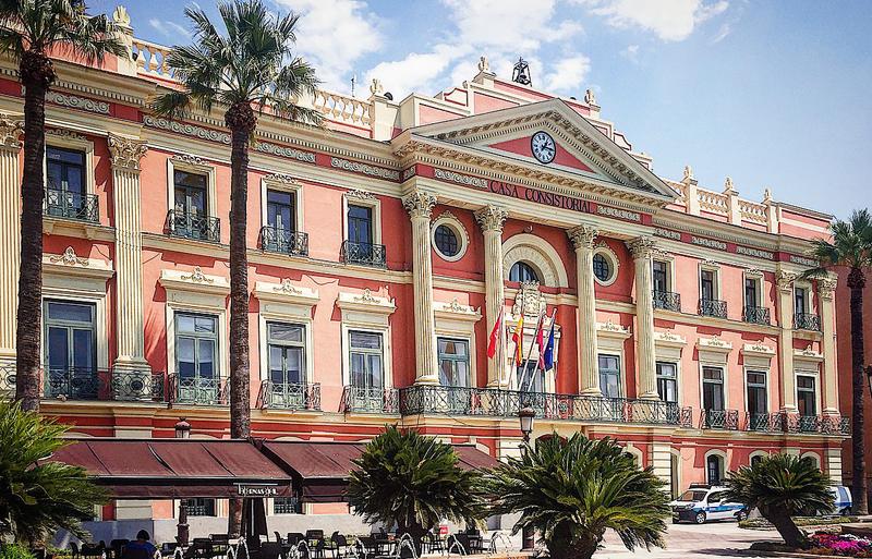 edificio Ayuntamiento de Murcia