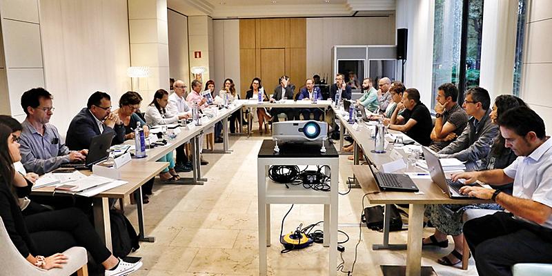 reunión gobierno vasco para proyecto agree