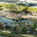 Abre el centro comercial sevillano Lagoh, construido con materiales reciclados y una gran cubierta verde