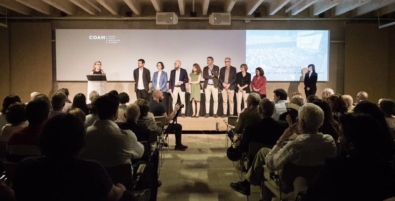 Entrega Premio COAM 2019