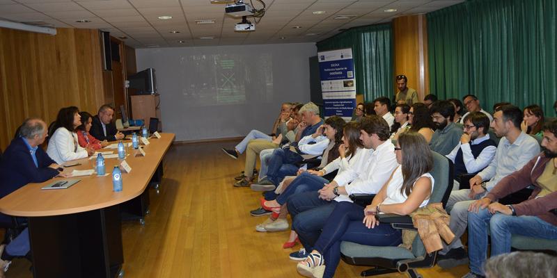 El acto estuvo presidido por la vicerrectora de coordinación de Lugo, Montserrat Valcárcel Armesto.