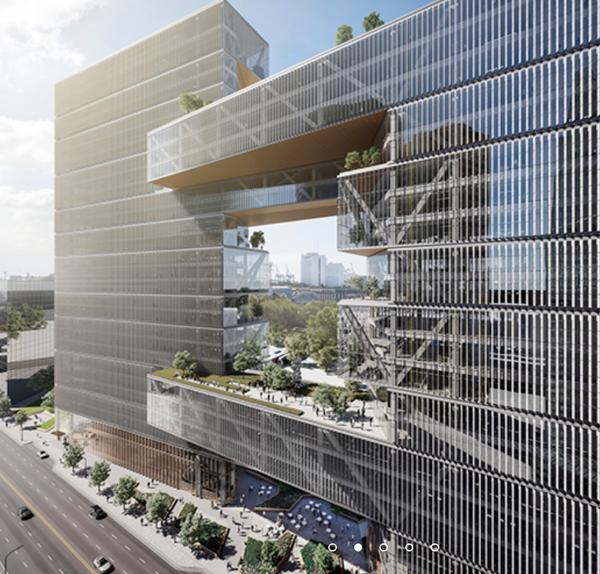 Render del nuevo proyecto del estudio de arquitectura SOM.