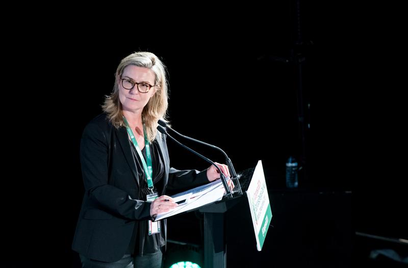 Inés Leal, en el V Congreso Edificios Energía Casi Nula