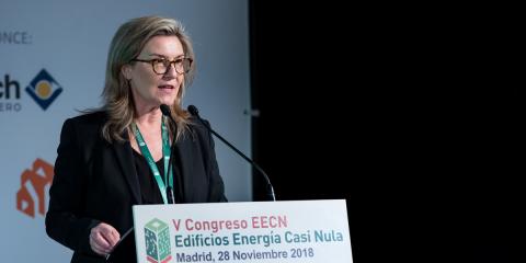 Inés Leal, directora del VI Congreso Edificios Energía Casi Nula