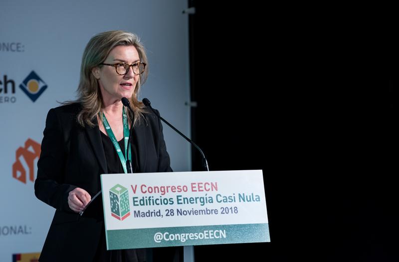 Inés Leal, directora del Congreso Edificios Energía Casi Nula