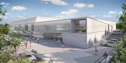 Sale a licitación la ampliación del pabellón de Collado Villalba para convertirlo en un edificio de consumo casi nulo