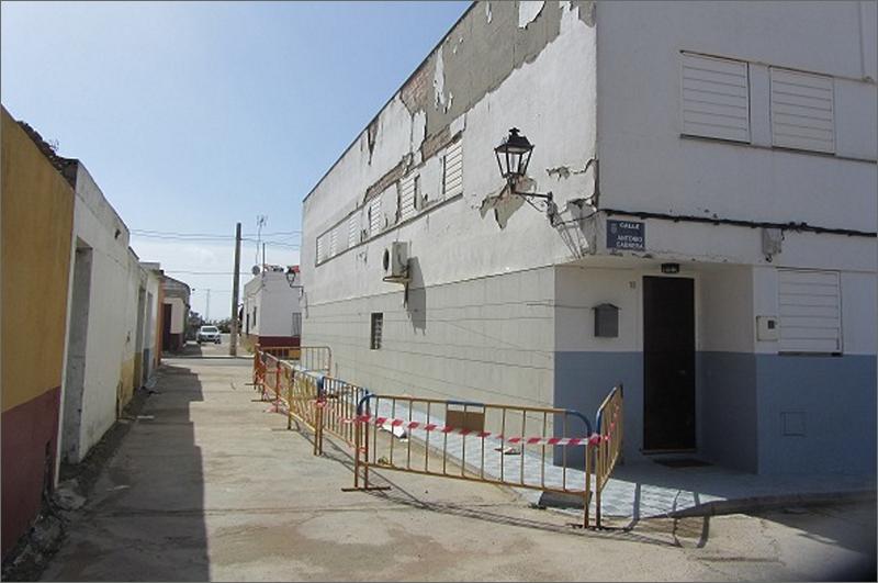 18 viviendas en el poblado de Alfonso XIII, del municipio sevillano de Isla Mayor