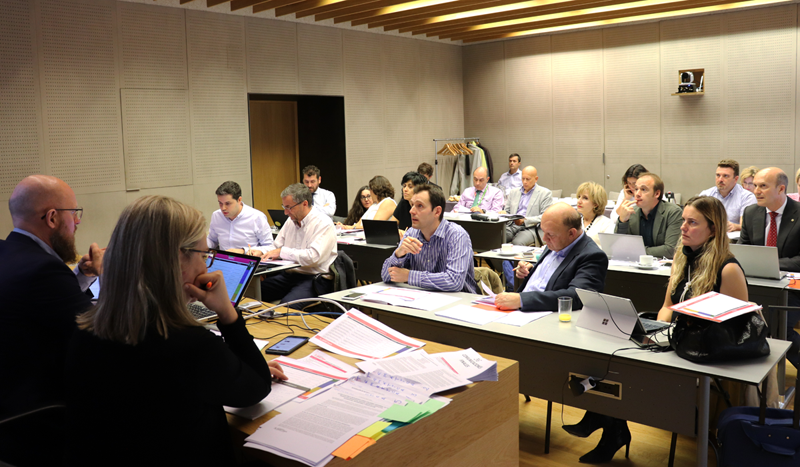 El Comité Técnico está compuesto por profesionales relacionados con el sector de las redes eléctricas.