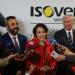 La ministra de Trabajo visita las nuevas instalaciones de la línea de producción de lana insuflada Insulsafe de Isover