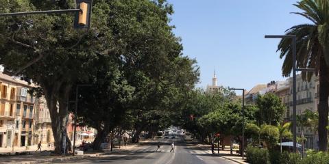 Pavimentos urbanos sostenibles para mejorar la calidad del aire de la ciudad con la solución i.active Cargo