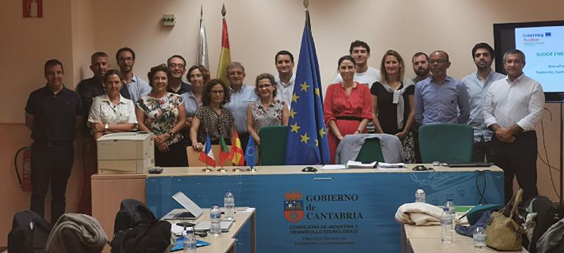 primera reunión de proyecto europeo Energy Push