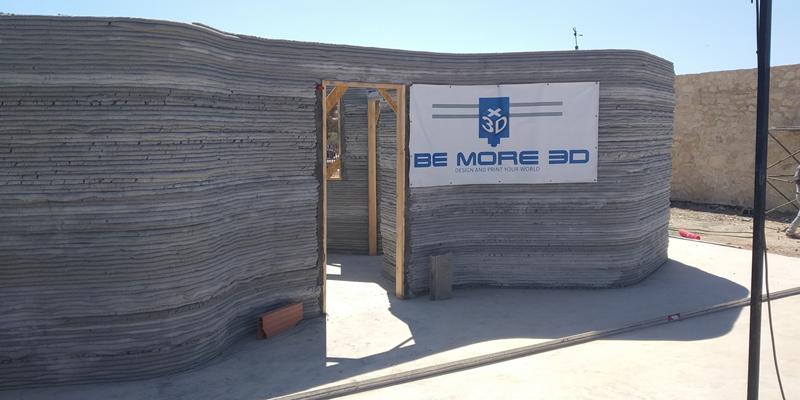 primera vivienda mediante impresora 3D en África