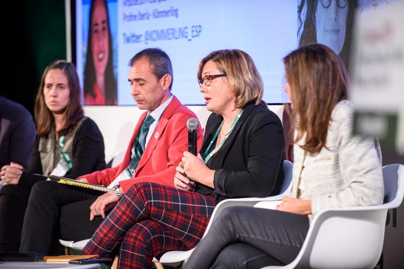 Ana Carmona remarcó la necesidad de innovar para obtener una economía circular con productos de igual valor.
