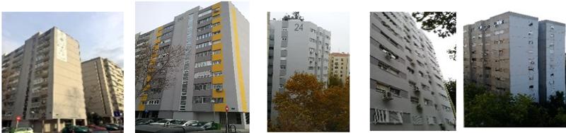 bloque y torre antes y después de la obra