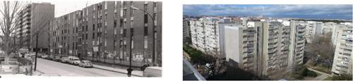 Barrio de Orcasitas, antes y después