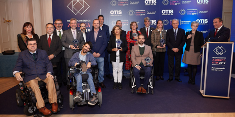 Otorgados los premios 'Zardoya Otis por un mundo sin barreras' que reconocen la contribución a la accesibilidad universal