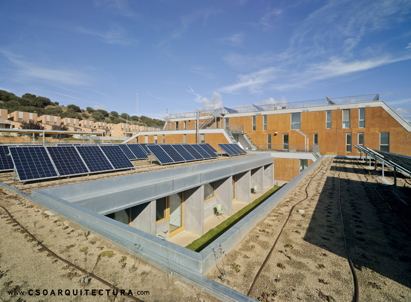76 placas fotovoltaicas en residencia ancianos zamora