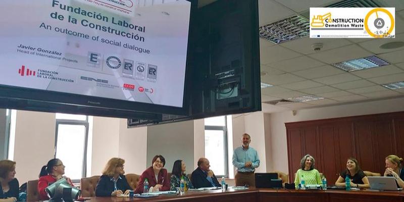 Reunión de arranque del proyecto europeo CDWaste en Bucarest.
