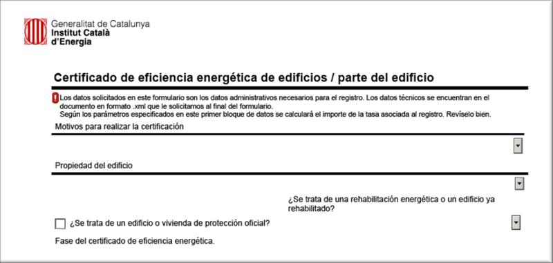 Figura 2. Imagen del formulario de inscripción al registro.