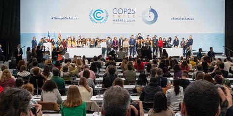 La COP25 aumenta el compromiso de los países por la descarbonización total