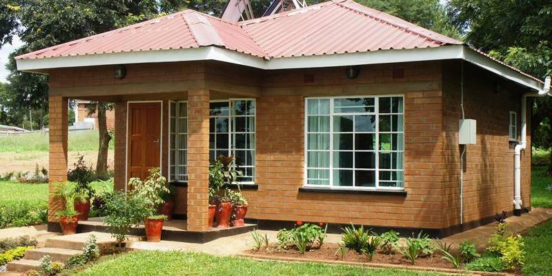 Durabrick Homes, la vivienda demo construida en Malaui, al sureste de África, con este tipo de ladrillos.